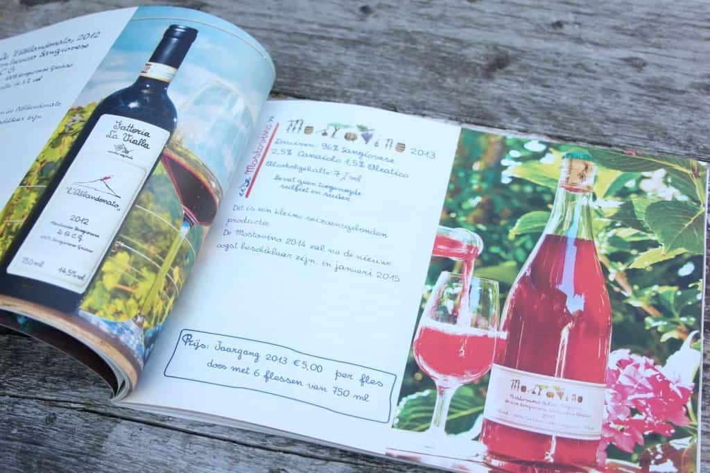 Fattoria la Vialla brochure binnen