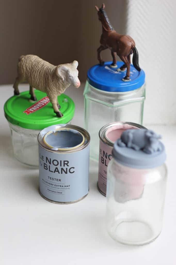 DIY dierpotjes diertjes