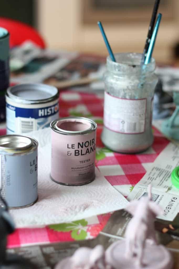 DIY dierpotjes knutsel