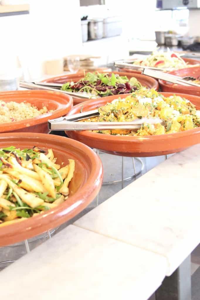 Buffet van Odette salades