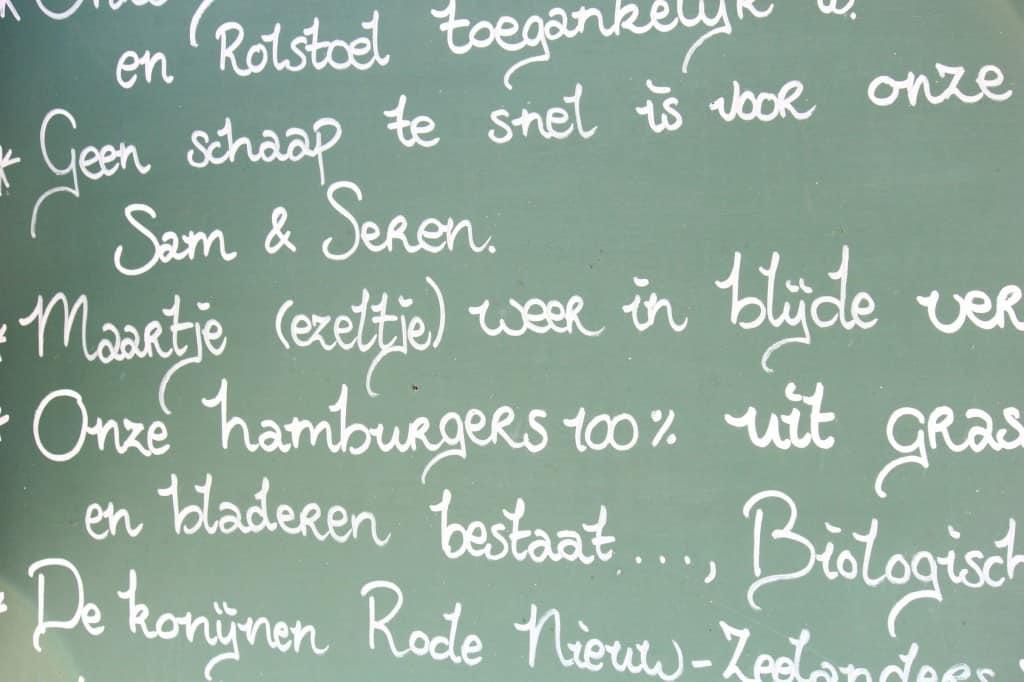 Gasterij Kruisberg bord