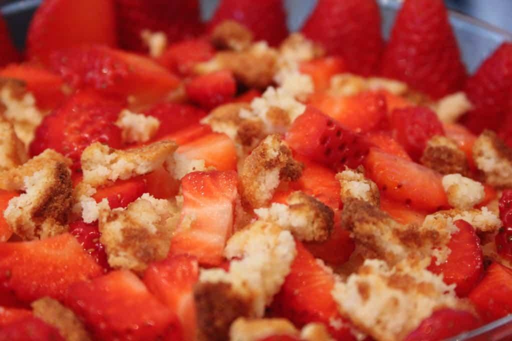trifle fruit
