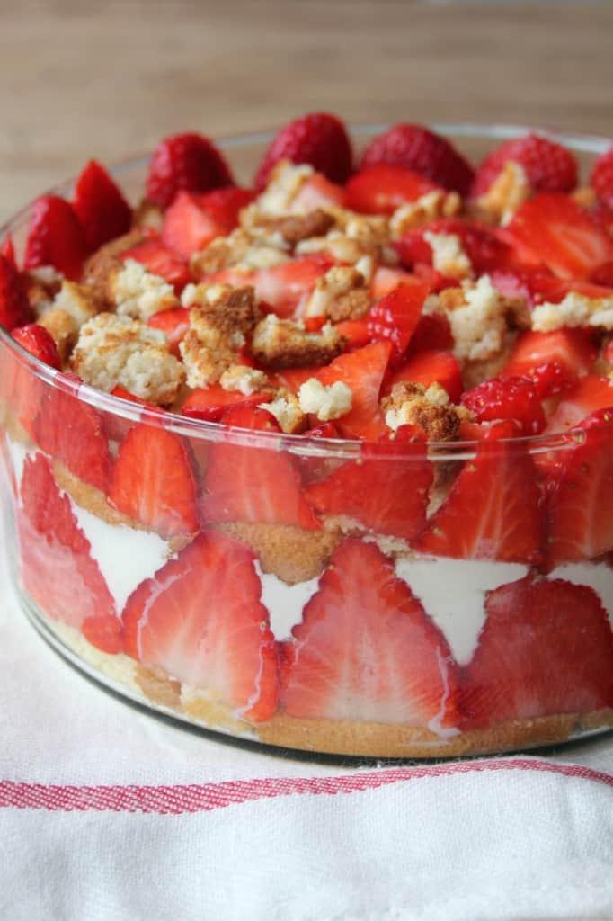 trifle i schaal