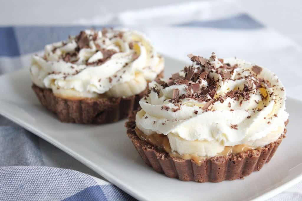 BANOFFEE TAARTJES | ENJOY! The Good Life