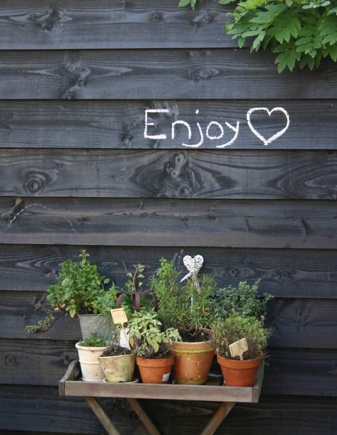 ZWART IN DE TUIN? | ENJOY! The Good Life