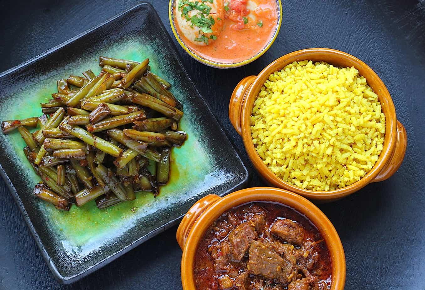 De Indonesische rijsttafel, al je favoriete gerechten verzameld   ENJOY! The Good Life