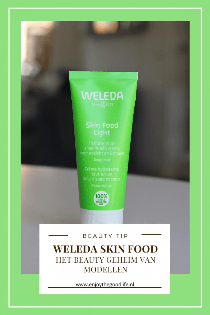 Weleda Skin Food, het beauty geheim van modellen | ENJOY! The Good Life