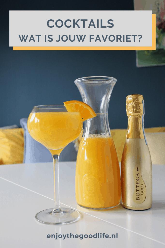 Cocktails voor een zomerse namiddag | ENJOY! The Good Life