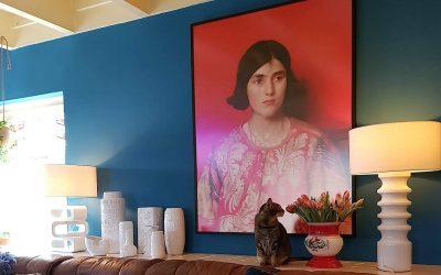 Binnenkijken bij Marilu: Eclectisch en kleurrijk