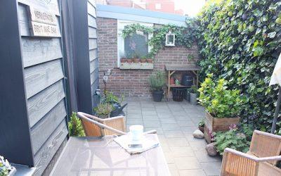 Ook een kleine tuin kan een droomplek zijn