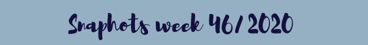 snapshots week 46/2020 | ENJOY! The Good Life