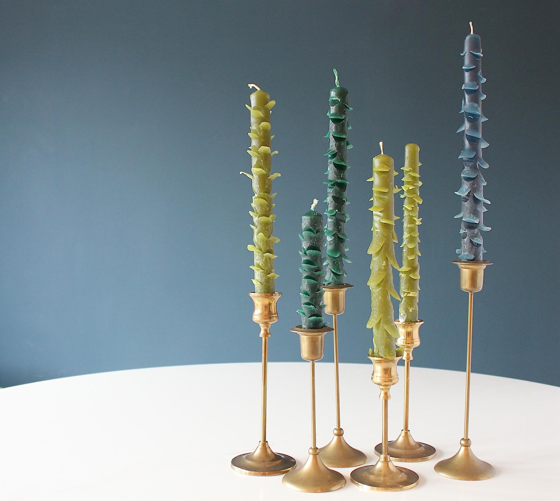 DIY: Kerstboom kaarsen maken   ENJOY! The Good Life