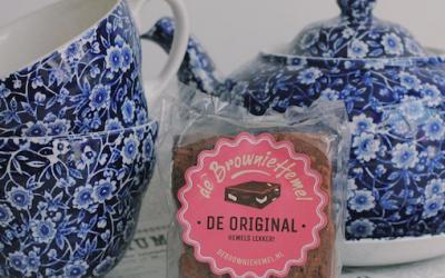 Brownie van De Browniehemel, perfect cadeau voor Valentijnsdag