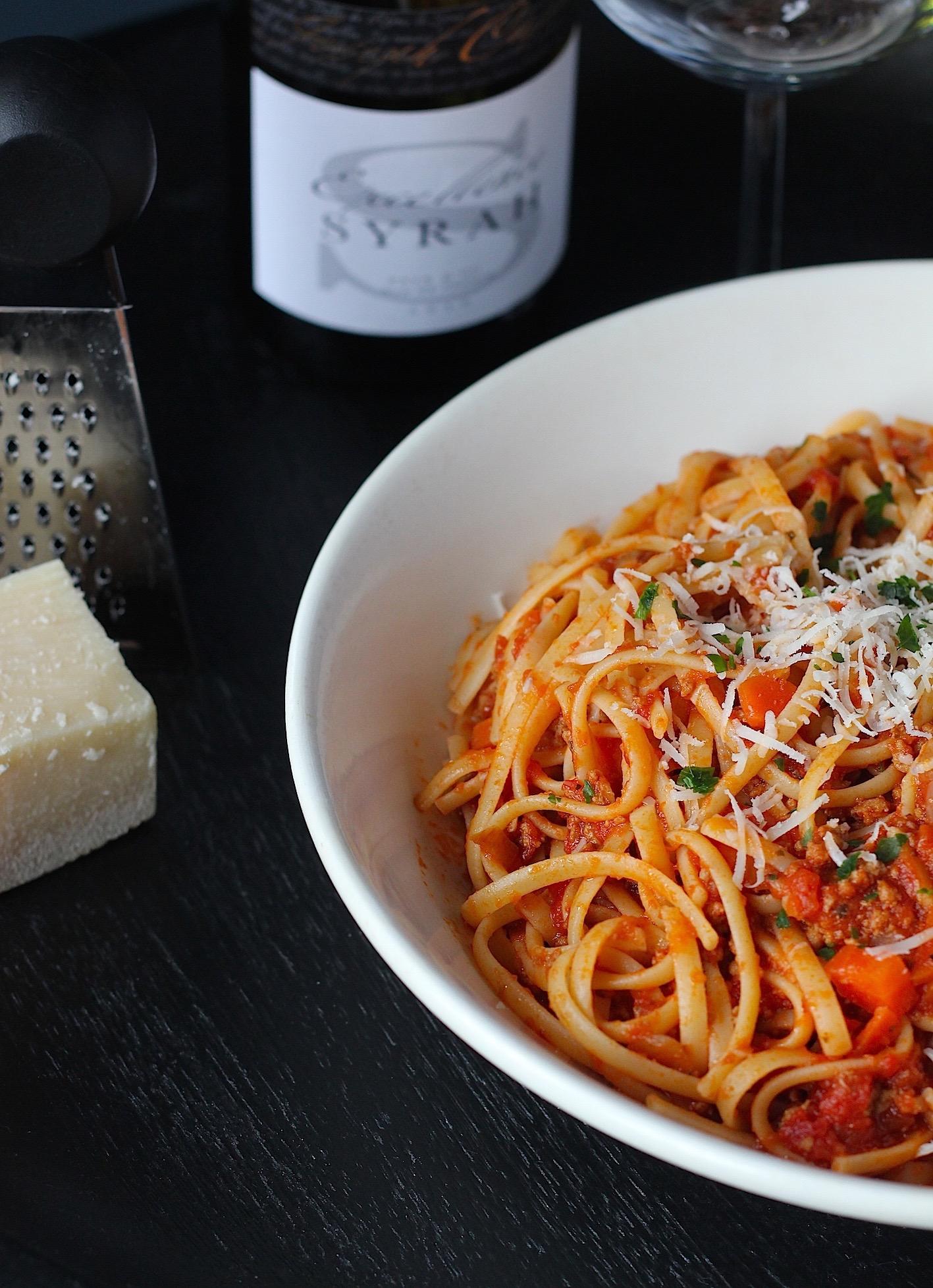 pasta bolognese | ENJOY! The Good Life